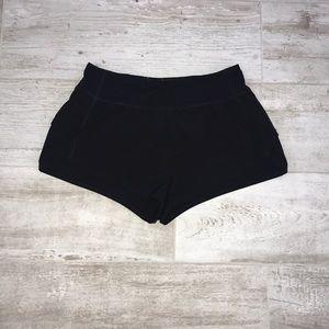 FOREVER 21 Women's Running Shorts Black